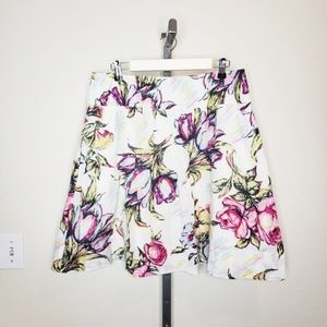 CAbi #469 Afternoon In The Garden Floral Skirt